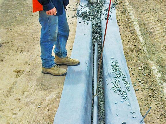 Megaflo Green for Panel Drain & Subsoil Drainage System